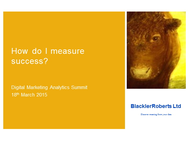 How Do I Measure Success?