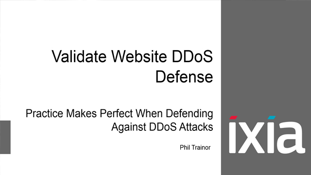 Tech Talk LIVE!: Validate Website DDoS Defense