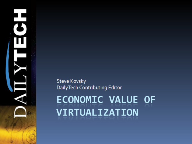 Economic Value of Virtualization