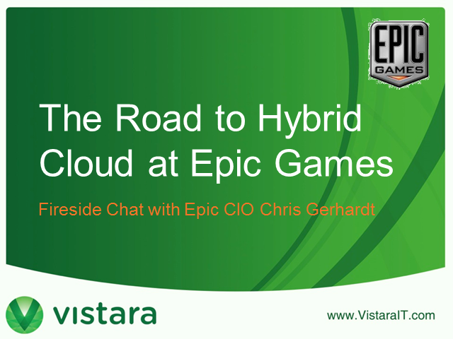 The Road to Hybrid Cloud at Epic Games
