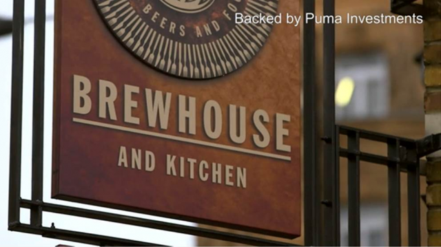 Company case study: Brewhouse & Kitchen, backed by Puma VCTs
