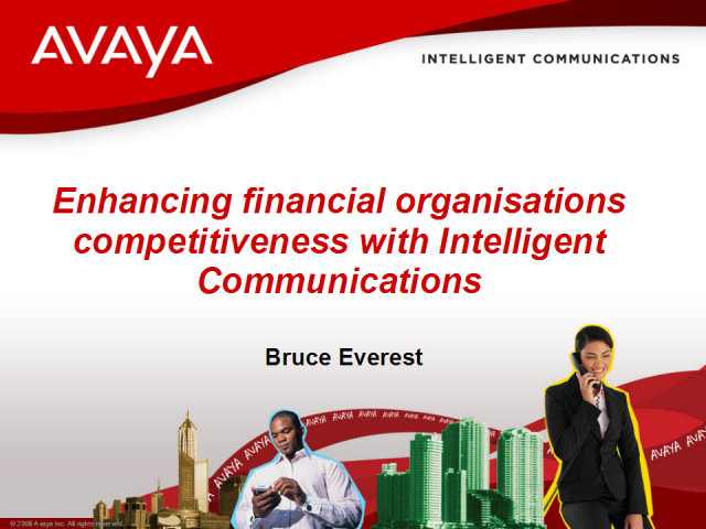 Financial Institutions: Enhance your Competitiveness