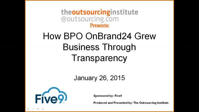 How BPO OnBrand24 Grew Business Through Transparency