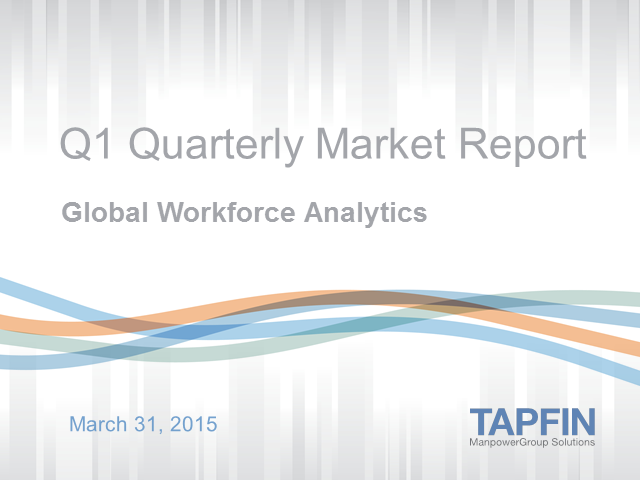 Quarterly Market Report: Global Workforce Analytics