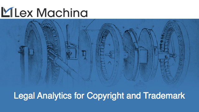 Launching: Legal Analytics for Copyright and Trademark