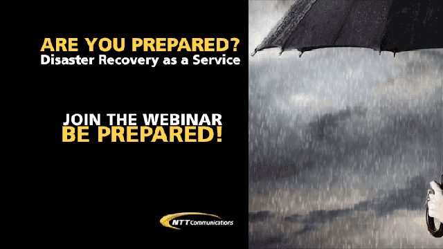 NTT Communications Webinar: The State of Disaster Recovery