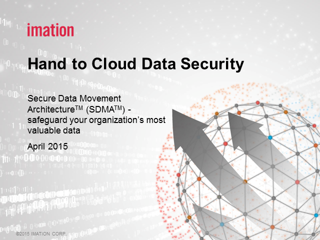 Hand to Cloud Data Security
