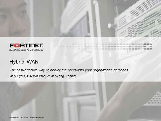 The Hybrid WAN for Your Data Center