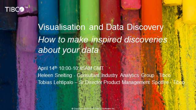 How to Make Inspired Discoveries About your Data using TIBCO Analytics