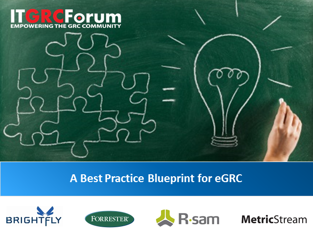 A Best Practice Blueprint for eGRC