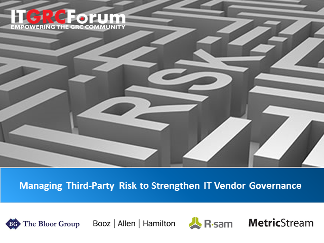 Managing Third-Party Risk to Strengthen IT Vendor Governance