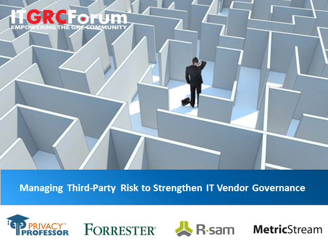 How to Identify and Reduce the Risks of 3rd Party Vendors