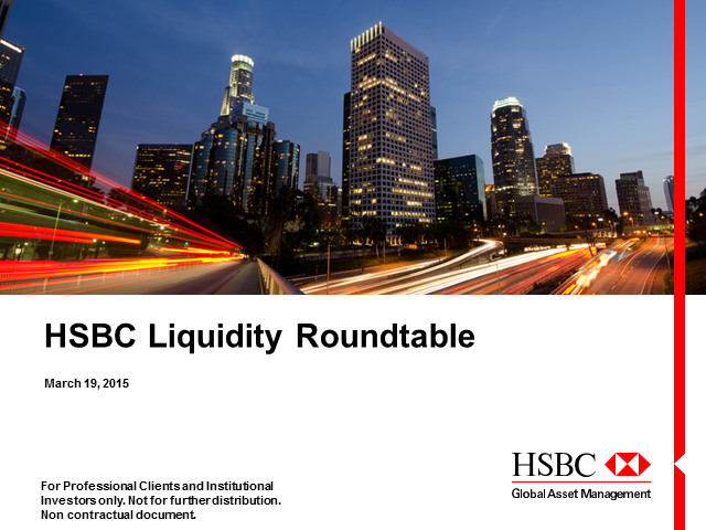 HSBC Webcast - Focus on Liquidity