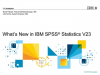 What's New in IBM SPSS Statistics