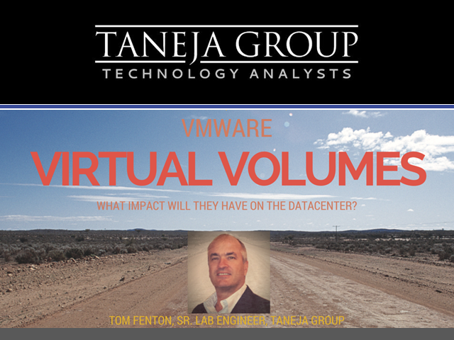 VMware Virtual Volumes – What impact will they have on the datacenter?