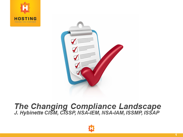 The Changing Compliance Landscape