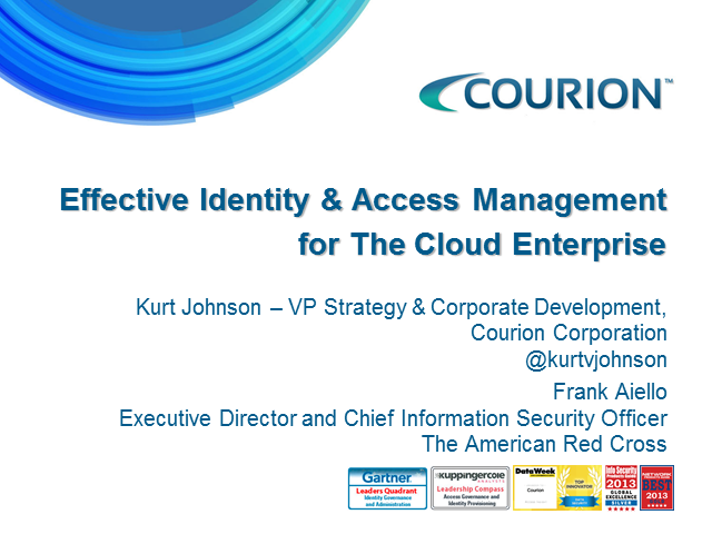 Briefings Part 3: Effective Identity & Access Mgmt for Today's Modern Cloud