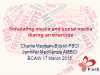 BCI webinar: Simulating media and social media during an exercise