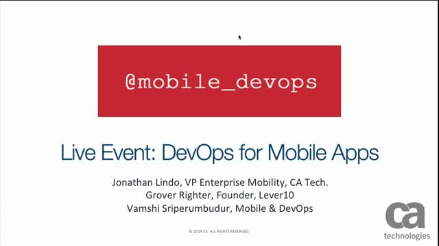 DevOps for Mobile Apps