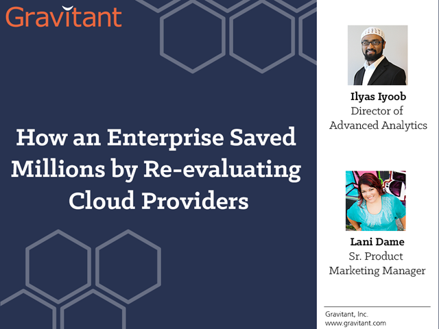 How an Enterprise saved millions by re-evaluating cloud providers