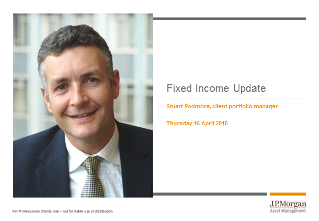 J.P. Morgan Structured CPD call: Fixed income update