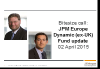 Bitesize update: JPM Europe Dynamic (ex-UK) Fund