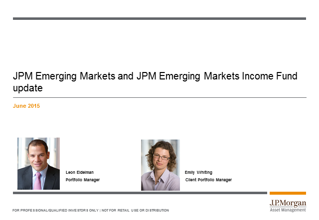 Bitesize update: JPM Emerging Markets and Emerging Markets Income funds