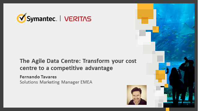The Agile Data Centre: Transform your cost centre to a competitive advantage