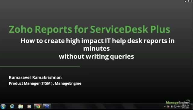 How to Create High Impact IT Help Desk Reports in Minutes