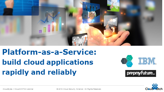 Platform as a Service: Build Cloud Applications Rapidly and Reliably