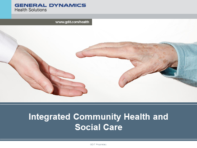 Integrated Community Health & Social Care