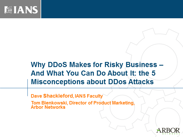 Why DDoS Makes for Risky Business – And What You Can Do About It