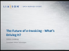 The Future of e-Invoicing - What's Driving It?