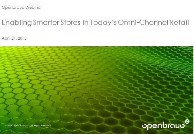 Enabling Smarter Stores in Today's Omnichannel Retail