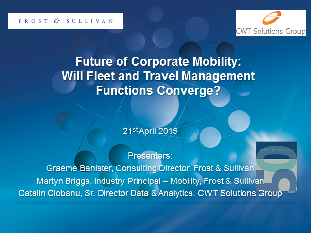 The Future of Corporate Mobility