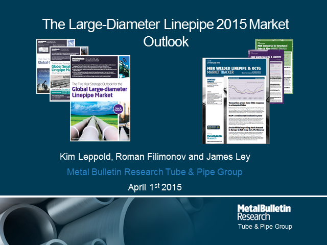 MBR's outlook for large-diameter linepipe in 2015