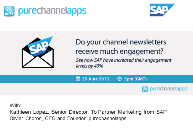 SAP delivers 100% targeted partner news and significantly increases engagement