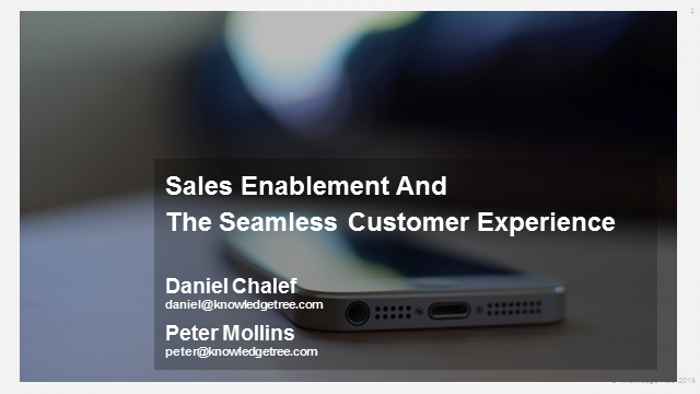 Sales Enablement's Role in Building a Seamless Customer Experience