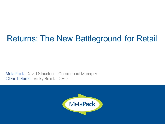 Returns: The New Battleground for eCommerce Retailers
