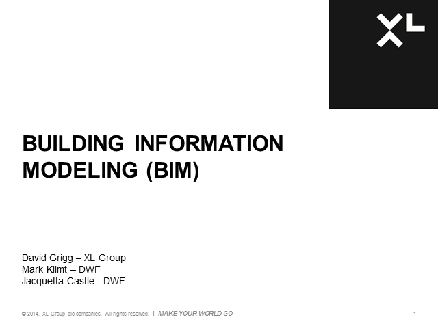 Building Information Modelling (BIM): Reap the Rewards, Reduce the Risks