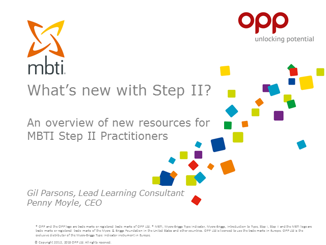 What's new with Step II?