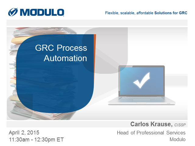 GRC Process Automation