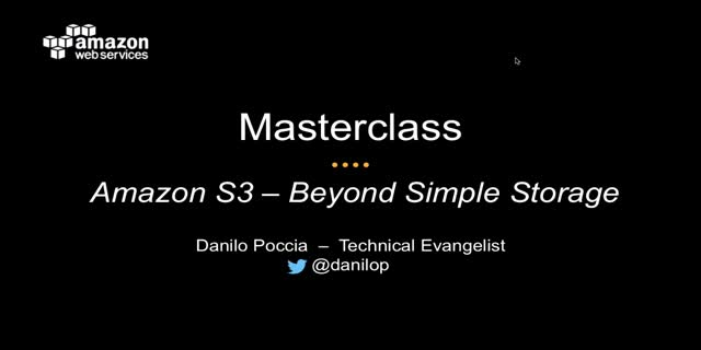 AWS Masterclass | Amazon S3