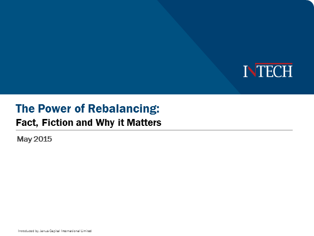 The Power of Rebalancing: Fact, Fiction and Why it Matters