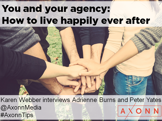 You and your agency: how to live happily ever after