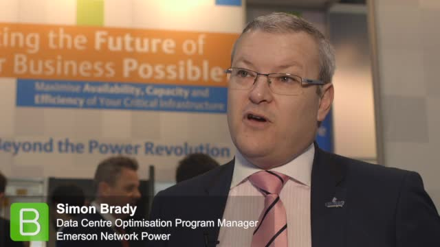 Data Centre World 2015: Emerson Network Power - Simon Brady