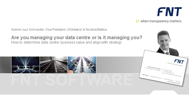 Are you managing your data center or is it managing you?