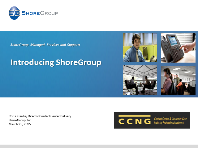ShoreGroup Managed Services and Support: An Introduction