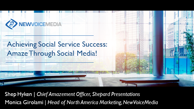 Achieving Social Service Success: Amaze Through Social Media!