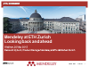 Mendeley at ETH Zürich – looking back and ahead